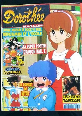 Dorothée Magazine N°136; Tarzan/ Thierry Hazard/ Dragon Ball Z/ Nicky Larson