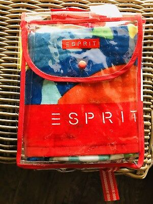 "🎄 ""ESPRIT"" KIDS BEACH TOWEL 🎄Great Christmas Gift 🎄Fish Design"