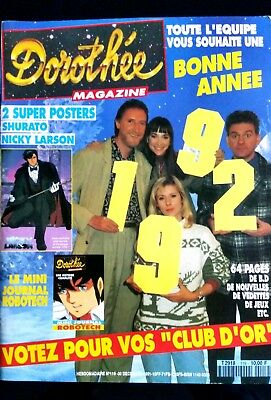 Dorothée Magazine N°119; Dragon Ball Z/ Les Vagabonds/ Poster Nicky Larson