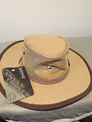 barmah hats Summer Hat Canvas Cooler Made In Australia Crushable Waterproof