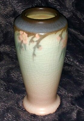 The Gift of ROOKWOOD POTTERY: VERY PRETTY VELLUM GLAZE VASE IN EXCELLENT SHAPE