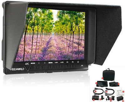 Feelworld FW760 7'' 4K HDMI Full HD Camera Video Monitor for Gimbal Stabilizer