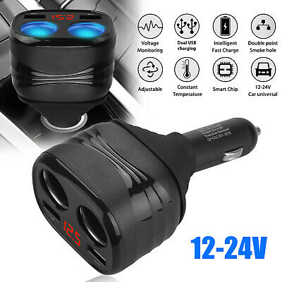 FAST Rapid Car Charger Type C USB Charging Cable For Samsung Galaxy Note 8 9 S9