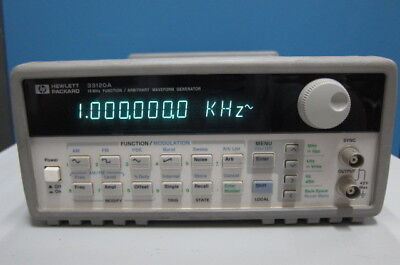 HP 33120A 15MHz Function/Arbitrary Waveform Generator