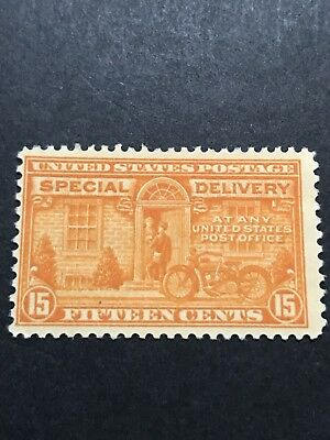 Scott #E16, 15c Special Delivery Motorcycle Stamp, MNH
