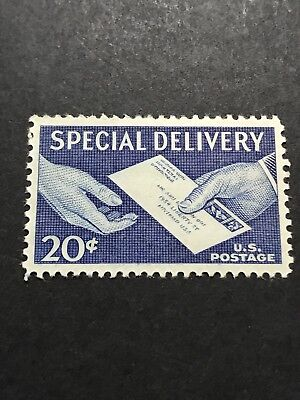 Scott #E20, 20c Special Delivery Letter in Hand Stamp, MNH