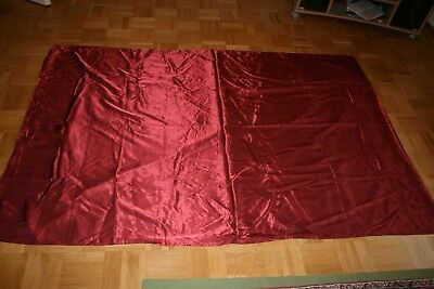 Royal Luxus Glanz Satin Bettwäsche In Rot 135cmx200cm80cmx80cm