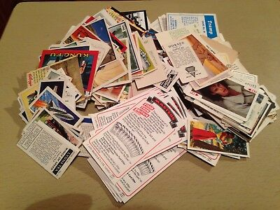 massive vintage cigarette cards and bits job lot