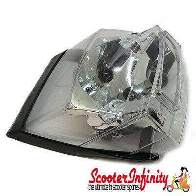 Rear Light Clear without Bulbs (Vespa PX 125-200/P80-150X/P200E, T5 Classic)