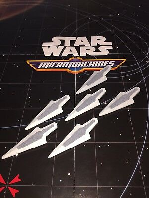Micro Machines Star Wars The Force Awakens 2015 Lot Super Star Destroyer X6 ship