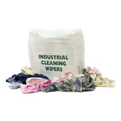 20 Kg Mixed Wiping Rags Workshop Garage Industrial Cloths