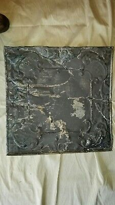 "Ceiling tin 24"" x 24"" Full Piece Antique  Vintage"