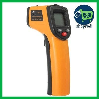 BENETECH GM320 Non Contact Laser LCD Display Digital IR Infrared Thermometer