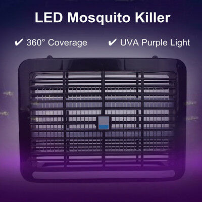 4/6/8W LED Electric Insect Killer UV-A Home Mosquito Pest Fly Bug Zapper Catcher