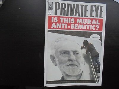 Private Eye Magazine 2018