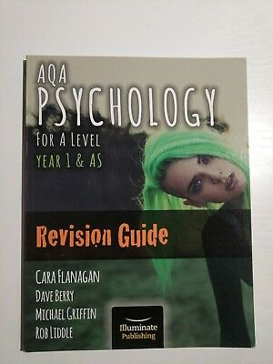 AQA Psychology for A Level Year 1 & AS - Revision Guide by Cara Flanagan, Rob L…