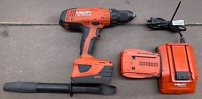 HILTI SF 10W-A18 CORDLESS DRILL DRIVER  w/ Charger & Batteries