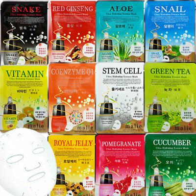 Malie Ultra Hydrating Essence Korean Mask sheet Pack Korea cosmetics 1 pcs