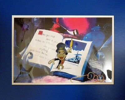 Disney Jiminy Cricket Original Handpainted Production Animation Cel for TV