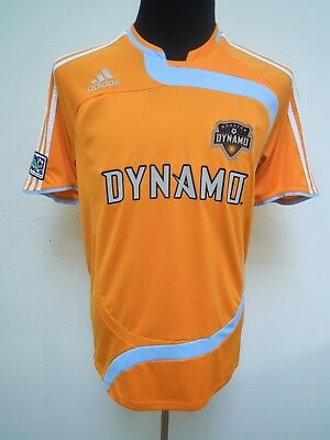 Rares Houston Dynamo MLS Trikot Adidas M Sammler TOP!