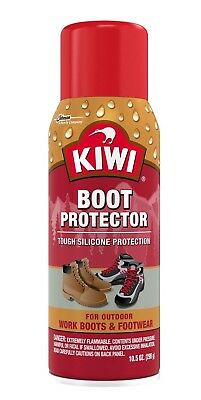 Kiwi Water Repellant Spray Leather Suede Boot Shoe Protector Spray
