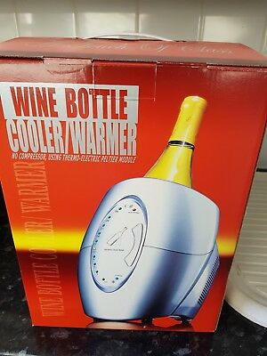 Electric Bottle Cooler and Warmer, Single Bottle, Wine, Champagne, Chiller
