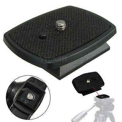 Tripod Quick Release Plate Screw Adapter Mount Head For DSLR SLR Camera_PLF