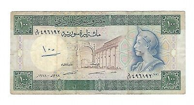 Syria - One Hundred (100)  Pounds