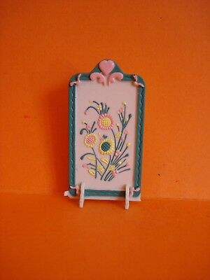 Vintage Dolls' House - Floral Fire Screen