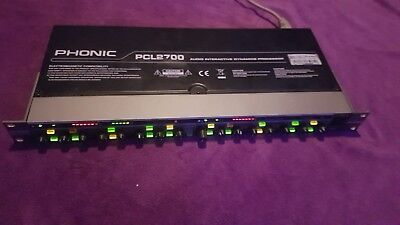 Phonic PCL2700 Audio interactiv dynamics processor top zustand