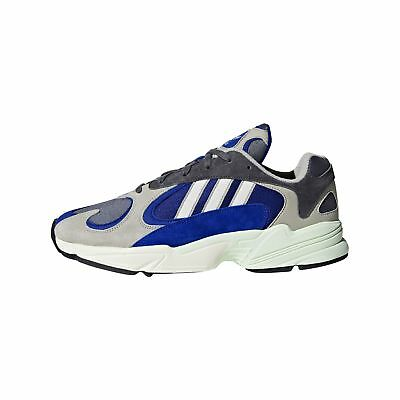 ADIDAS YUNG-1 AQ0902 grigio blu retro running daddy shoes fashion limited  editio ef2d4db92bd