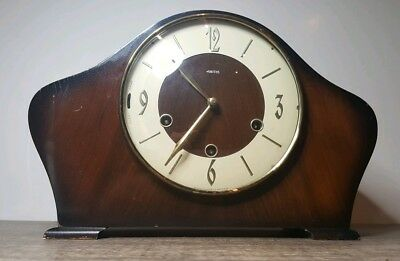 Smiths Amberley 8 day westminster chime mantel clock floating balance escapement