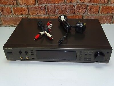 TECHNICS SH-GE90 TOP Of The Range Stereo Graphic Equalizer Sound Processor