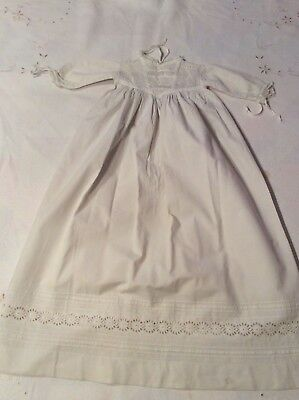 Lovely Old Vintage Baby Christening Baptism Gown Robe