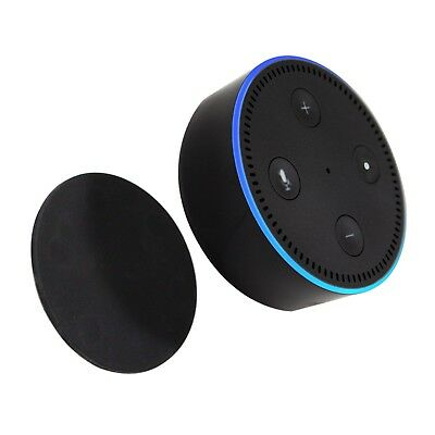 TechMatte Magnetic Mount Pad for Amazon Echo Dot and Google Home Mini (Black)