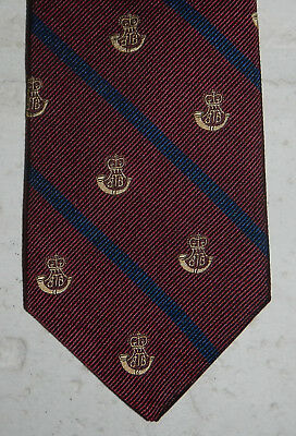 NWT Brooks Brother 346 Mens 100% Silk Neck Tie Maroon Blue Striped MSRP $45