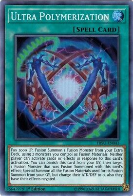 Yugioh! Ultra Polymerization - HISU-EN043 - Super Rare - 1st Edition Near Mint,