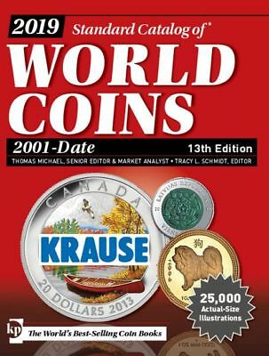 2019 Standard Catalog of World Coins 2001-Date 13th Edition KRAUSE