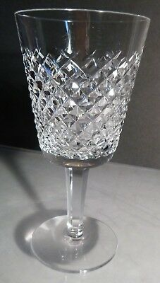 "*VINTAGE* Waterford Crystal ALANA (1952-) Water Goblet 7"" Made Ireland"