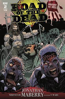 Road Of The Dead Highway To Hell #2 Variant B Cover Moss