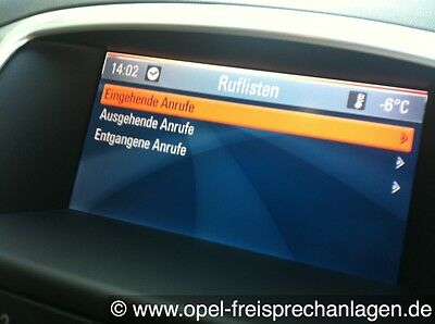 Original Bluetooth Freisprechanlage CD500 und DVD800 Opel