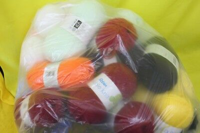 job lot of wool mixed colours ##OAF WH EP