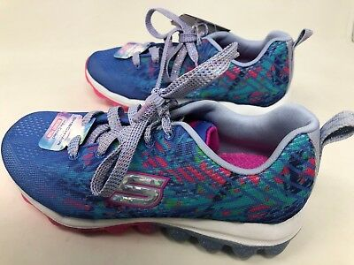 a1eb10d3f41d NEW!!! GIRL YOUTH Skechers SKECH-AIR - JUMPAROUND (80126L) Lavender mult 13S