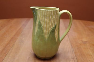"""Vintage Shawnee Pottery Yellow King Corn #71 Pitcher 8"""" Tall Excellent GUC"""
