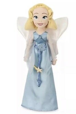 Disney Blue Fairy From Pinocchio Soft Toy Plush Doll