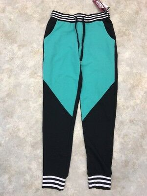 8ef383fd23da9 NWT Rue 21 Women's Green/Black/White Most Wanted Jogger Athletic Pants Sz S