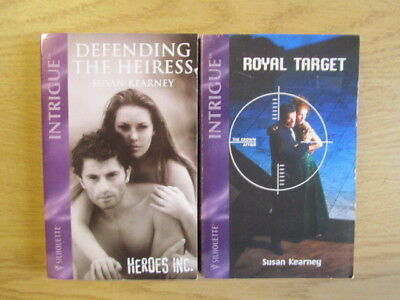 2 x Susan Kearney Intrigue Romance Silhouette: 1. Defending The Heiress.  2. Roy