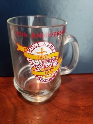 40th ANNIVERSARY MUG FOR GARFIELD CADETS '34 - 74