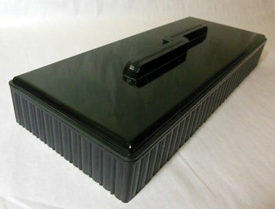 ART DECO Remington Dupont Cutlery Box TRINKET Bakelite Plastic INDUSTRIAL UNISEX