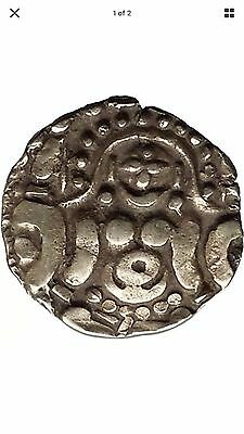 1114AD India Ghahadavalas Govindachansra Gold Stater Medievel Ancient Coin